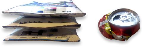 residuos cajas-lata